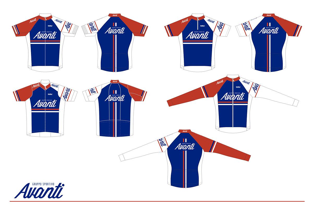 The GS Avanti kit is supplied by Kalas Sportswear cf9c1fb7d